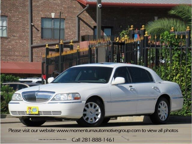 Used Lincoln Town Car For Sale In Houston Tx Cargurus