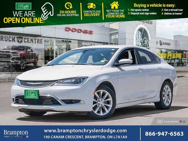 2015 Chrysler 200 C Sedan FWD