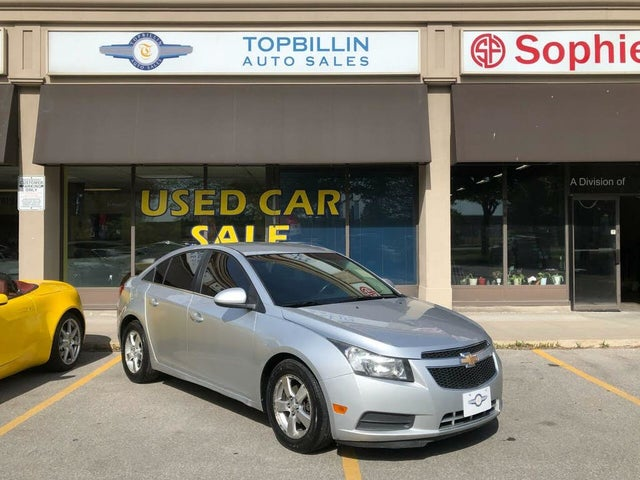 2012 Chevrolet Cruze LT Turbo Sedan FWD