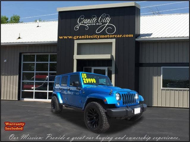 2015 Jeep Wrangler Unlimited Altitude 4WD