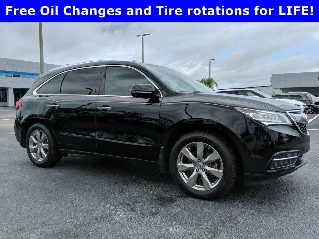 2015 Acura MDX FWD with Advance and Entertainment Package