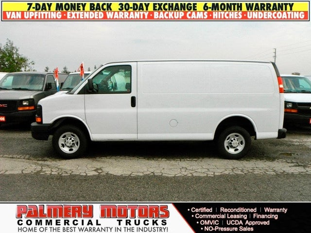 2010 Chevrolet Express Cargo 3500 RWD