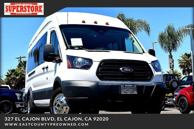 2018 Ford Transit Passenger 350 HD XL Extended High Roof LWB DRW RWD with Sliding Passenger-Side Door