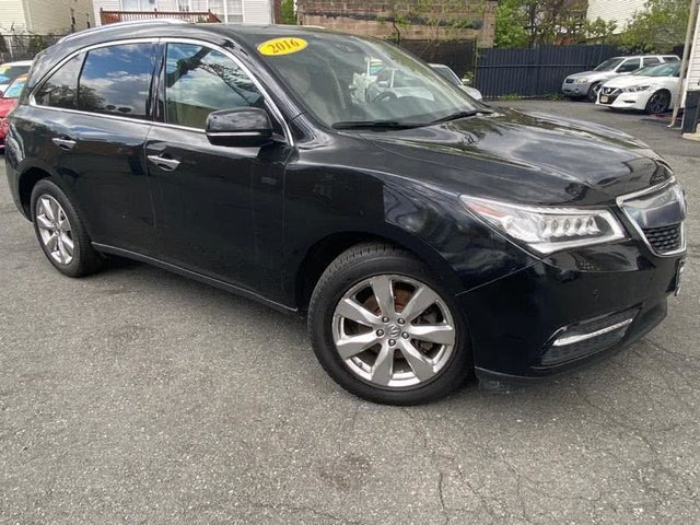 2016 Acura MDX SH-AWD with Advance and Entertainment Package