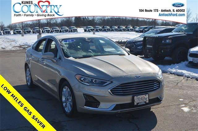 2019 Ford Fusion Hybrid SEL FWD