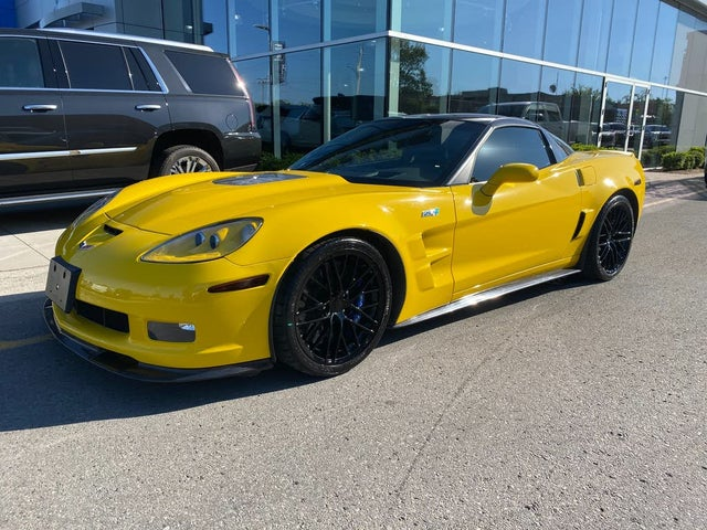 2010 Chevrolet Corvette ZR1 3ZR Coupe RWD