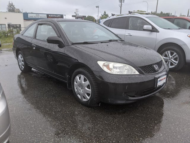 2005 Honda Civic Coupe Reverb