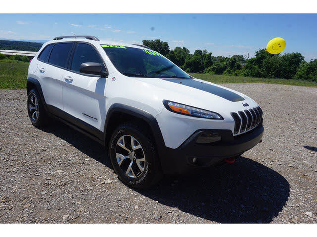 2014 Jeep Cherokee Trailhawk 4wd For Sale In Knoxville Tn Cargurus