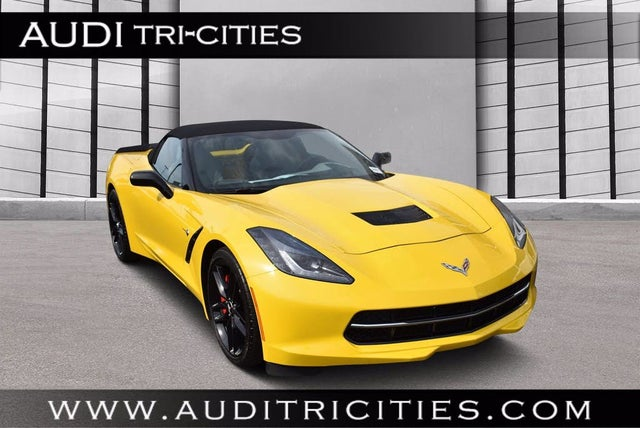 2014 Chevrolet Corvette Stingray Z51 3LT Convertible RWD