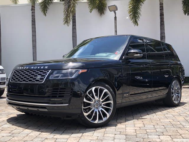 2019 Land Rover Range Rover V8 Supercharged LWB 4WD