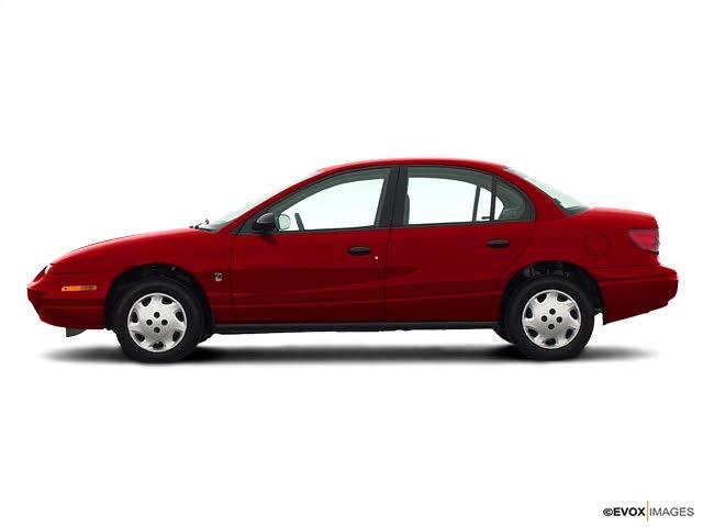 2002 Saturn S-Series 4 Dr SL1 Sedan