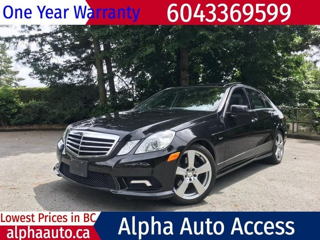 2011 Mercedes-Benz E-Class E 350 Luxury BlueTEC