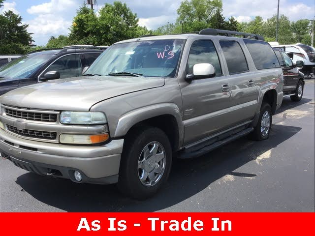 used 2003 chevrolet suburban 1500 lt 4wd for sale right now cargurus 2003 chevrolet suburban 1500 lt 4wd