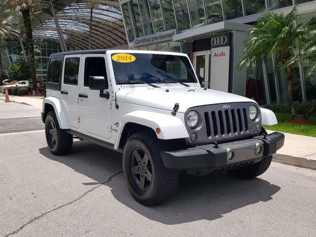2014 Jeep Wrangler Unlimited Freedom Edition 4WD