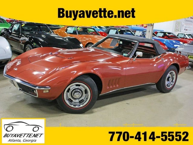 1968 Chevrolet Corvette Convertible RWD