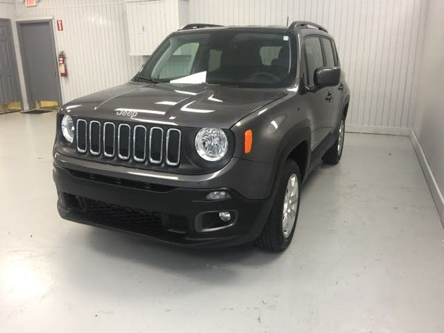 Certified 2018 Jeep Renegade Latitude 4WD For Sale in ...