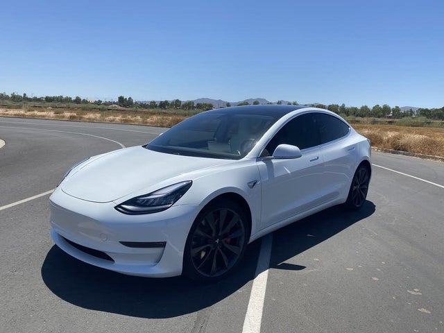 Used 2020 Tesla Model 3 Performance AWD for Sale (with ...