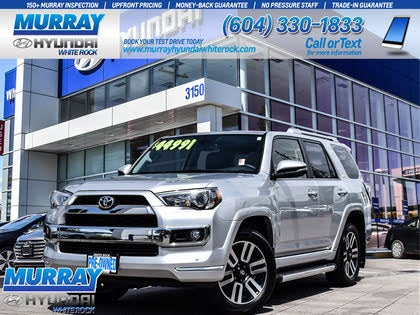 2018 Toyota 4Runner Limited AWD