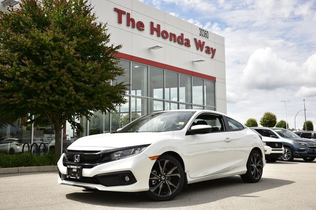 2019 Honda Civic Coupe Sport FWD