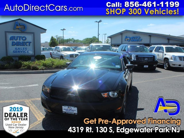 2012 Ford Mustang V6 Coupe RWD
