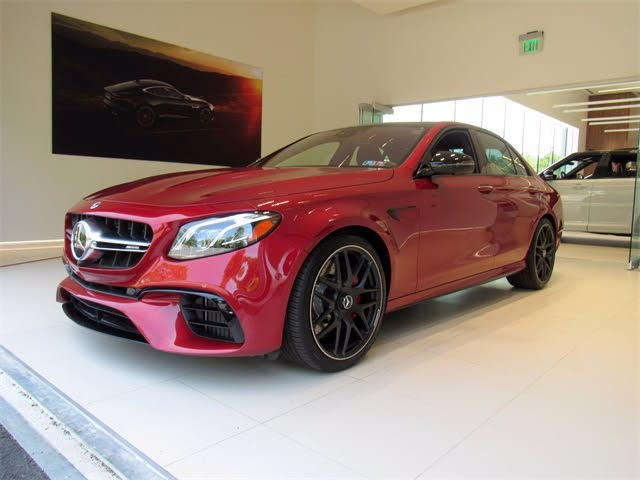 2019 Mercedes-Benz E-Class E AMG 63 S 4MATIC Sedan AWD