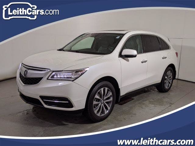 2016 Acura MDX FWD with Technology and Entertainment Package