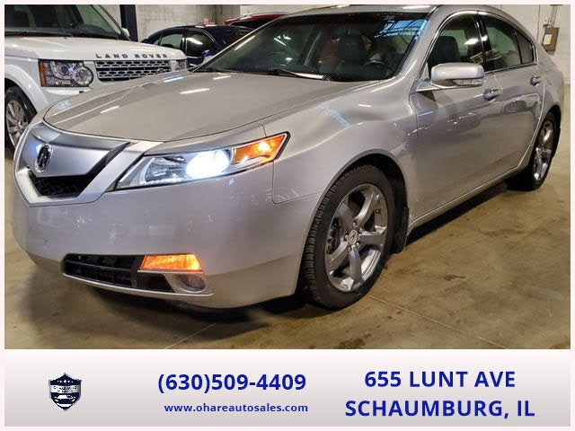 2010 Acura TL FWD with Technology Package and 18-inch Wheels