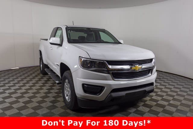2020 Chevrolet Colorado Work Truck Extended Cab 4WD