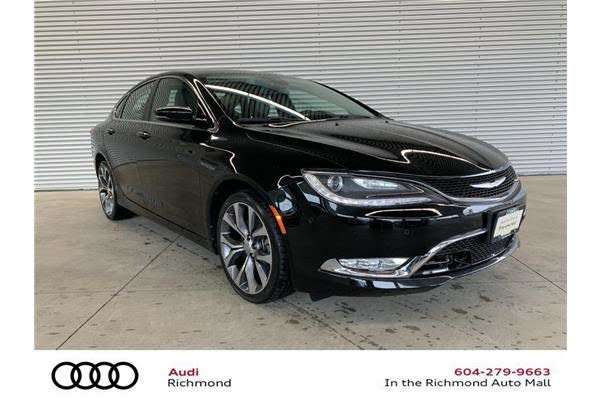 2015 Chrysler 200 C Sedan AWD