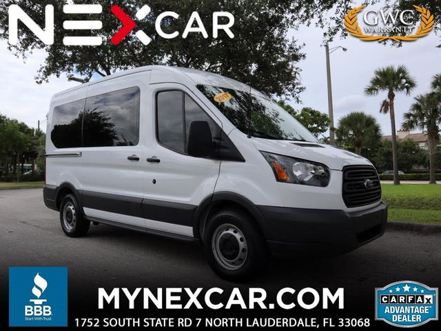 2017 Ford Transit Passenger 150 XLT Medium Roof RWD with Sliding Passenger-Side Door