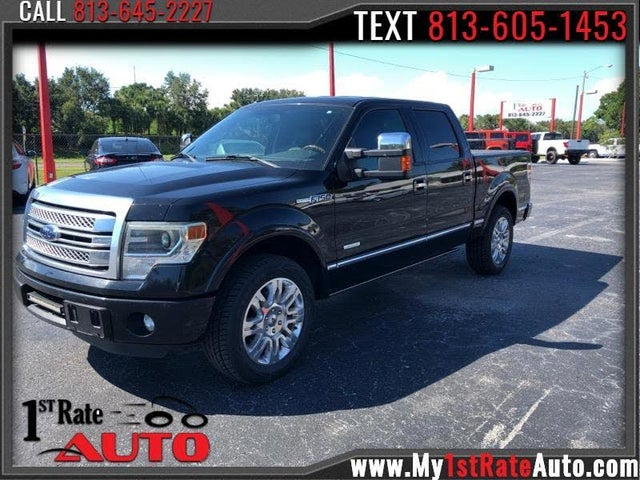 2013 Ford F-150 Platinum SuperCrew