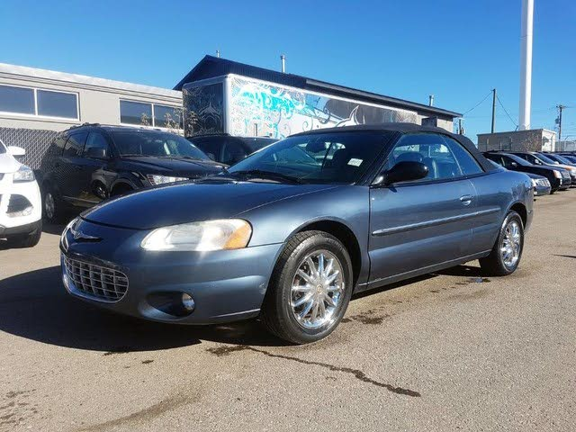 2003 Chrysler Sebring Limited Convertible FWD