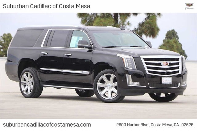 2019 Cadillac Escalade ESV Luxury 4WD