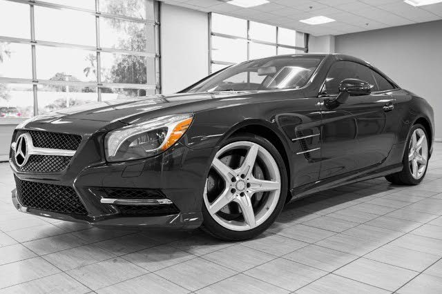 Used 2014 Mercedes-Benz SL-Class SL 550 for Sale (with ...