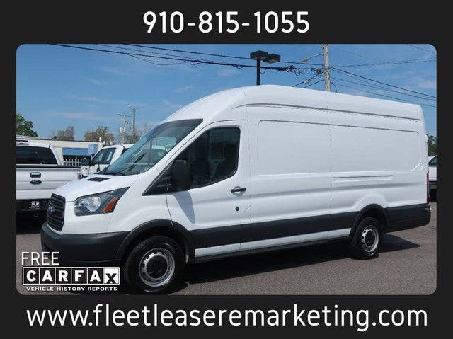 2017 Ford Transit Cargo 250 3dr LWB High Roof Extended Cargo Van with Sliding Passenger Side Door