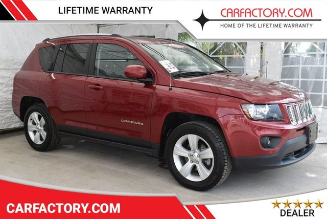 Used 2017 Jeep Compass X Latitude 4wd For Sale With Photos Cargurus