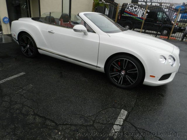 2015 Bentley Continental GTC V8 AWD