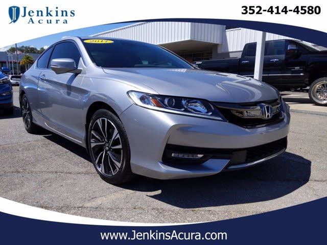 2017 Honda Accord Coupe EX-L V6 with Navi and Honda Sensing