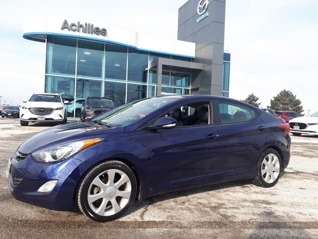 2013 Hyundai Elantra Limited Sedan FWD with Navigation