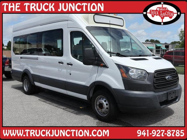 2016 Ford Transit Passenger 350 HD XL Extended High Roof LWB DRW RWD with Sliding Passenger-Side Door