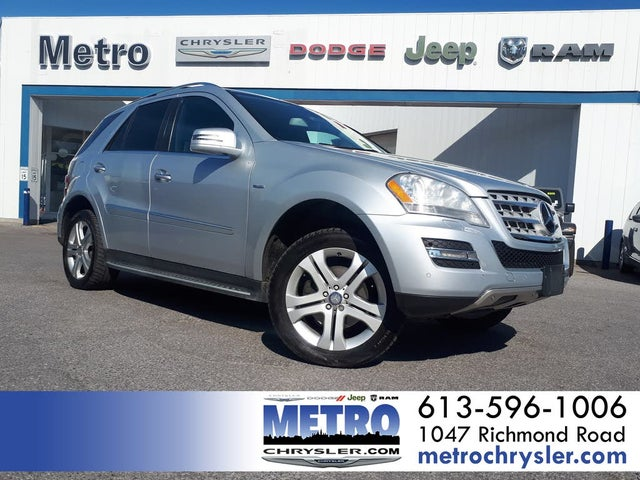 2011 Mercedes-Benz M-Class ML 350 BlueTEC 4MATIC