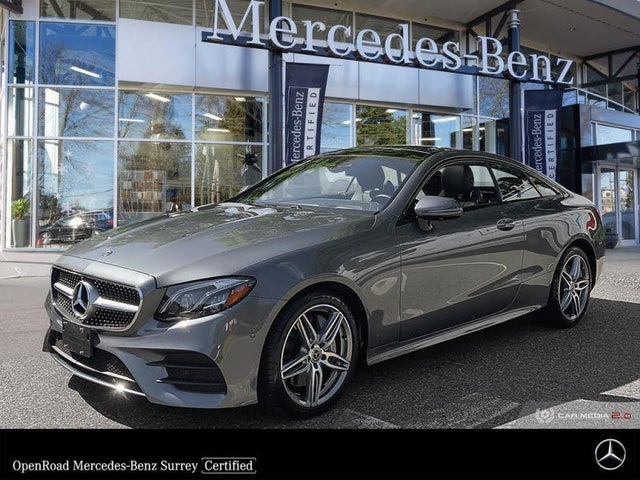 2018 Mercedes-Benz E-Class E 400 4MATIC Coupe AWD