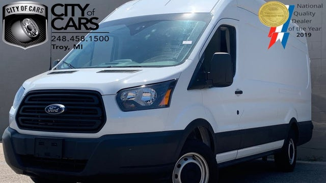 2019 Ford Transit Cargo 350 HD 10360 GVWR Extended High Roof LWB DRW with Sliding Passenger-Side Door