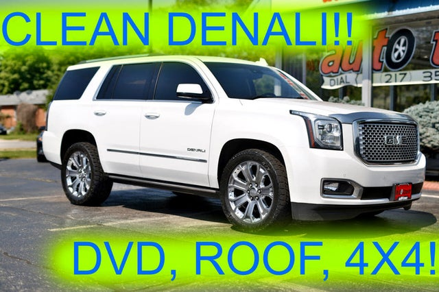Used Gmc Yukon For Sale In Springfield Il Cargurus