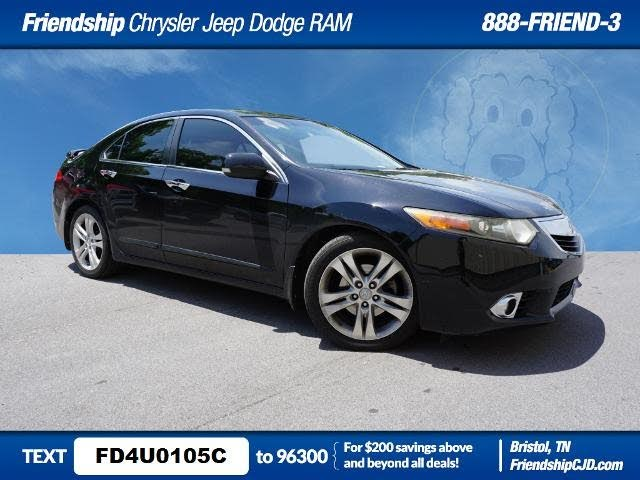 2011 Acura TSX V6 Sedan FWD with Technology Package