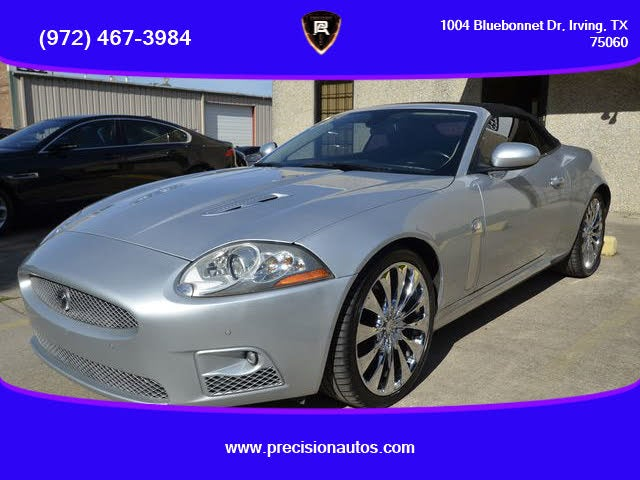 2009 Jaguar XK-Series XKR Convertible RWD