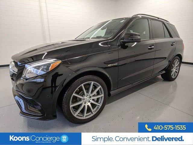 2019 Mercedes-Benz GLE-Class GLE AMG 63 4MATIC S-Model AWD