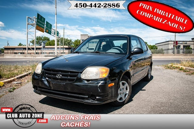 2006 Hyundai Accent GS 2-Door Hatchback FWD