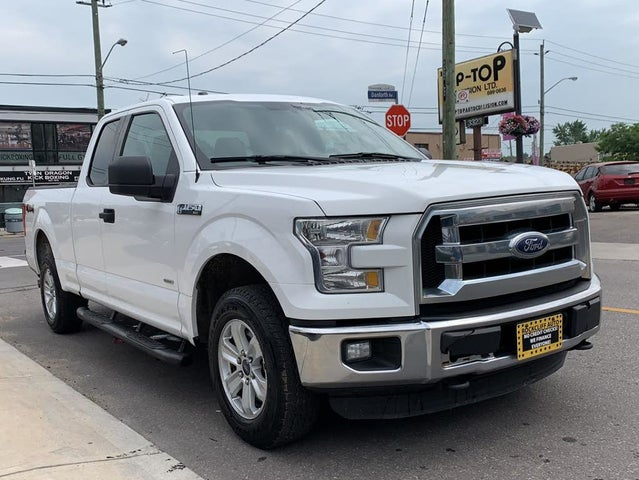 2015 Ford F-150 XLT SuperCab 4WD