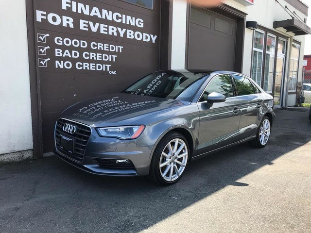 2016 Audi A3 2.0T quattro Technik Sedan AWD